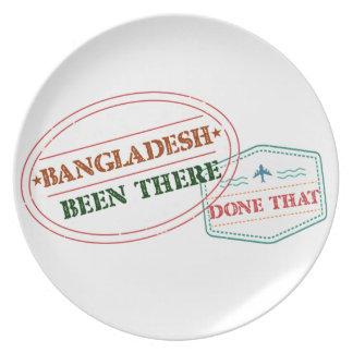 Bangladesh Been There Done That Plate