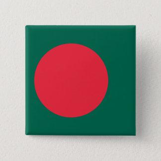 Bangladesh Flag 15 Cm Square Badge