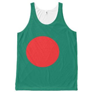 Bangladesh flag All-Over print singlet