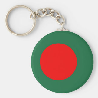 Bangladesh Flag Basic Round Button Key Ring