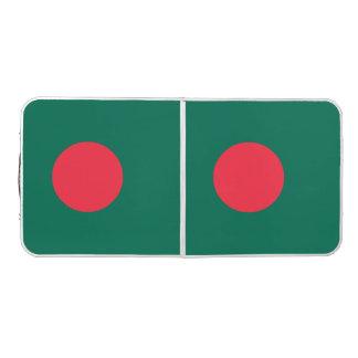 Bangladesh Flag Beer Pong Table