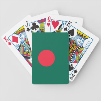 Bangladesh Flag Bicycle Playing Cards