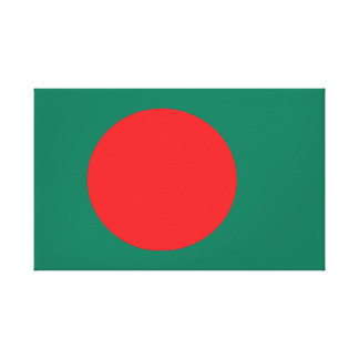 Bangladesh flag canvas print
