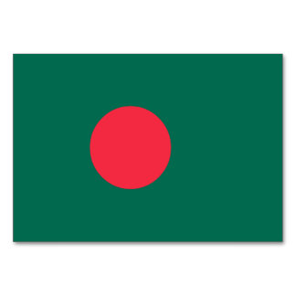 Bangladesh Flag Card