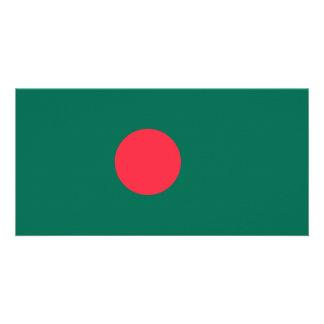 Bangladesh Flag Photo Card Template