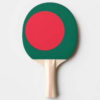 Bangladesh Flag Ping Pong Paddle