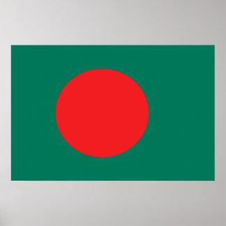 Bangladesh flag poster