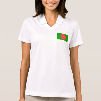 Bangladesh Flag Set Polo Shirt