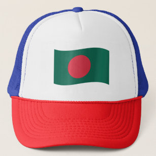 Bangladesh Flag Trucker Hat