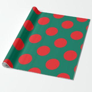 Bangladesh flag wrapping paper