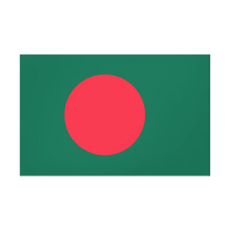 Bangladesh National World Flag Canvas Print