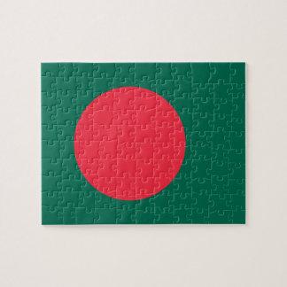Bangladesh National World Flag Jigsaw Puzzle