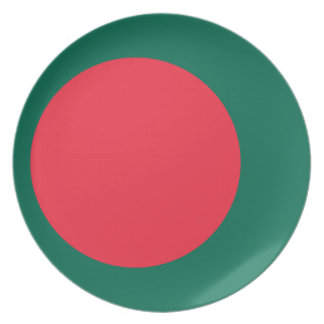 Bangladesh National World Flag Plate