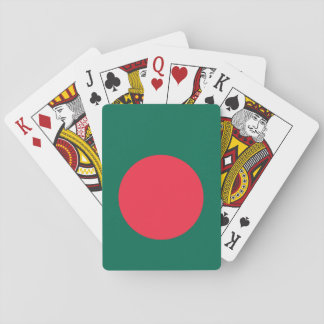 Bangladesh National World Flag Playing Cards