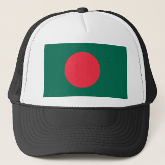 Bangladesh National World Flag Trucker Hat