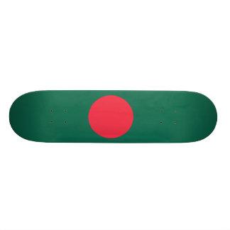Bangladesh Plain Flag Skate Board Deck