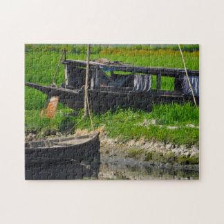 Bangladesh River Boats. Jigsaw Puzzle