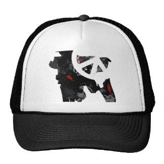Bangladesh Trendy Peace Sign with Bangladeshi map Mesh Hats