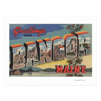 Bangor, MaineLarge Letter ScenesBangor, ME Postcard