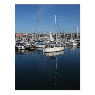 Bangor Marina Postcard