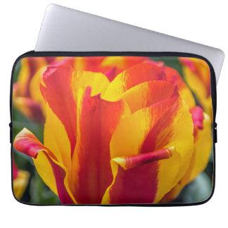 Banja Luka tulips laptop sleeve