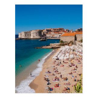 Banje Beach Postcard