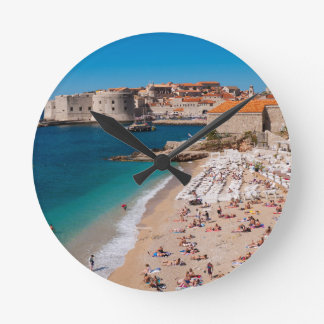 Banje Beach Round Clock