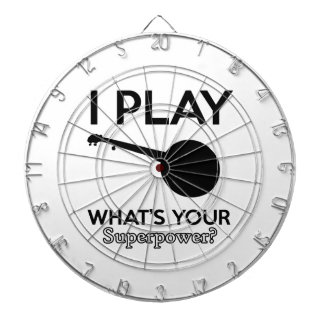 banjo design dartboard