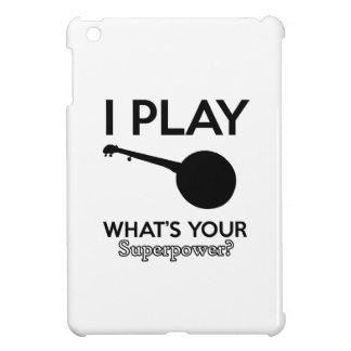 banjo design iPad mini case
