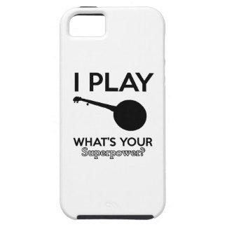 banjo design iPhone 5 case