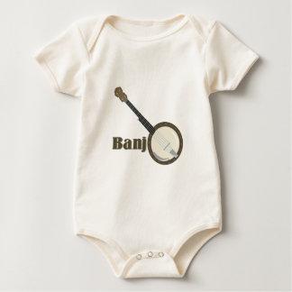 Banjo Instrument Baby Bodysuit