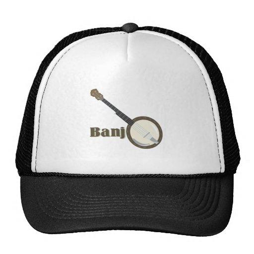 Banjo Instrument Hat