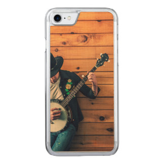 Banjo Man Carved iPhone 7 Case