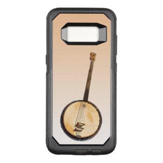 Banjo Music Instrument Orange Galaxy S8 Case