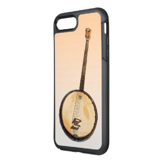 Banjo Music Instrument Orange iPhone 7 Plus Case