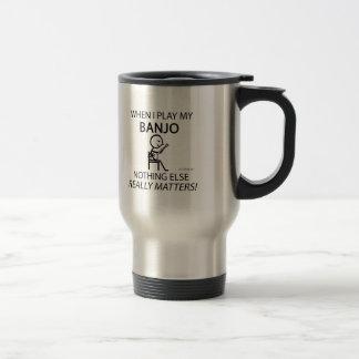 Banjo Nothing Else Matters Coffee Mugs