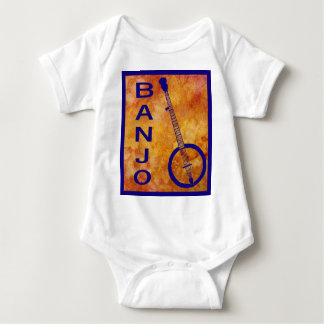 Banjo on a Fiery Field Baby Bodysuit