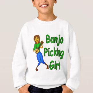 Banjo Picking Girl Sweatshirt