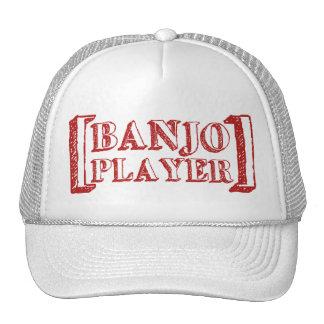 Banjo  Player Cap