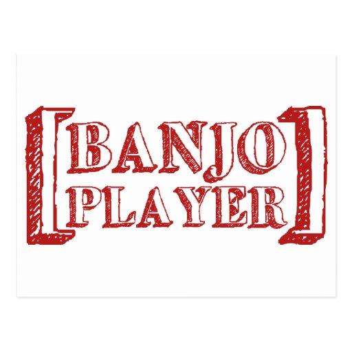 Banjo  Player Post Cards