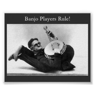 Banjo Players Rule! Poster