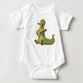 Banjo-Strummin' Gator Baby Bodysuit