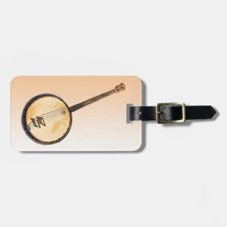 Banjos Music Instruments Luggage Tag