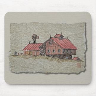 Bank Barn & Windmill Mousepad