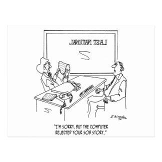 Bank Cartoon 1348 Postcard