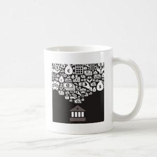 Bank Coffee Mug