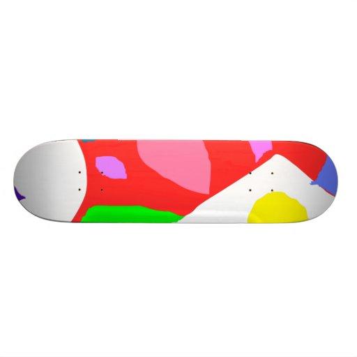 Bank Holiday Autumn Season Greeting Old Skate Board Deck