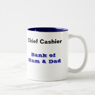 Bank of Mum and Dad Mug - Cashier