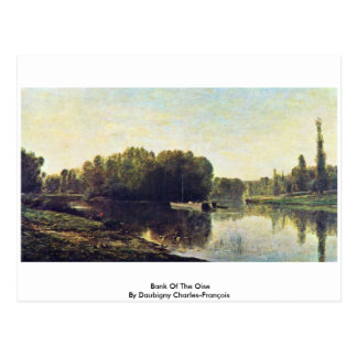 Bank Of The Oise By Daubigny Charles-François Postcard