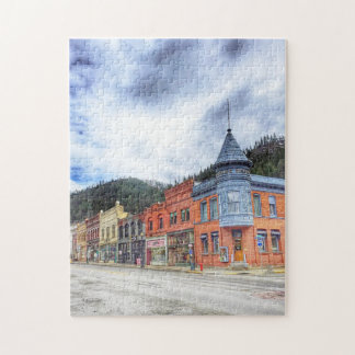Bank Street Wallace Idaho Jigsaw Puzzle